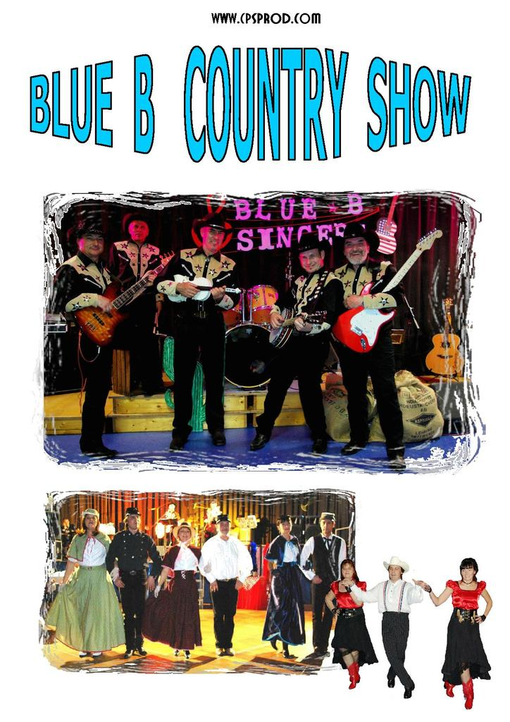 BLUE B COUNTRY SHOW